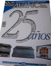 Aniversario 25 de la Revista Avance